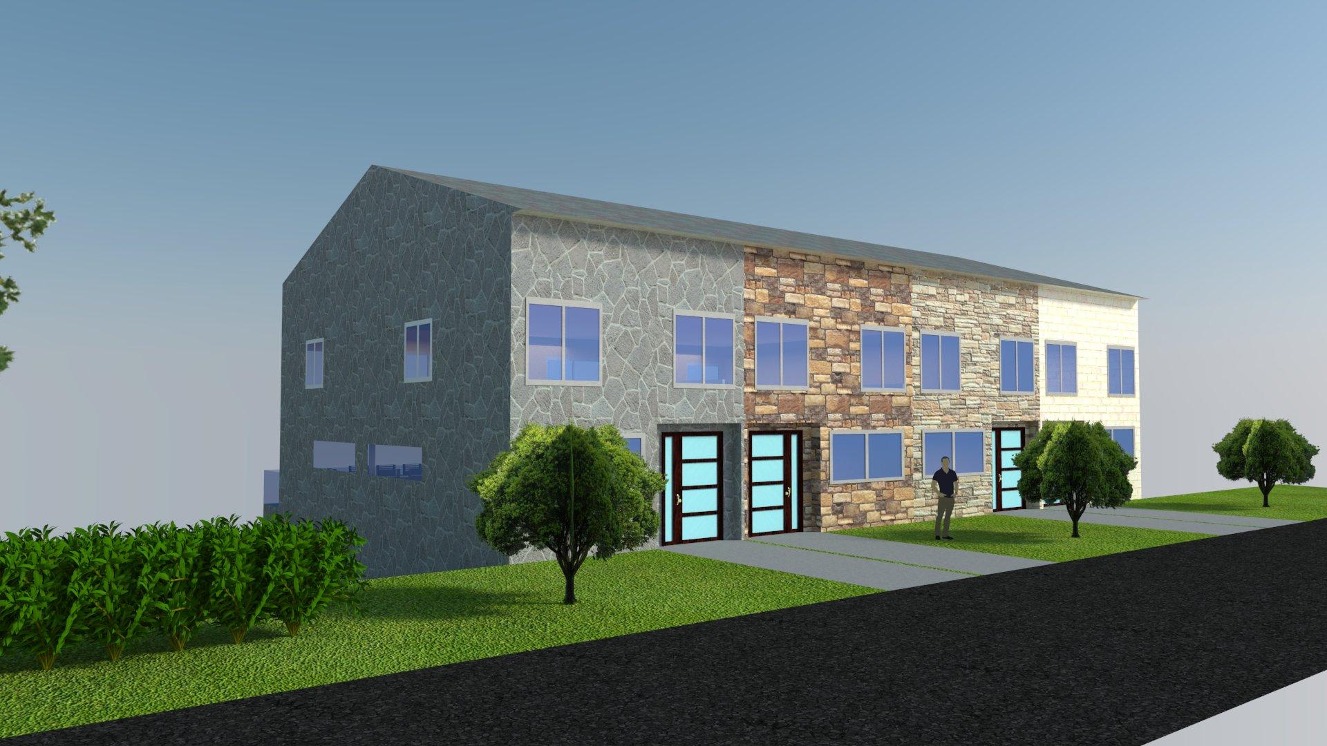 Proyecto urbanistico de 4 casas unifamiliares ref 014 01 - Proyectos casas unifamiliares ...